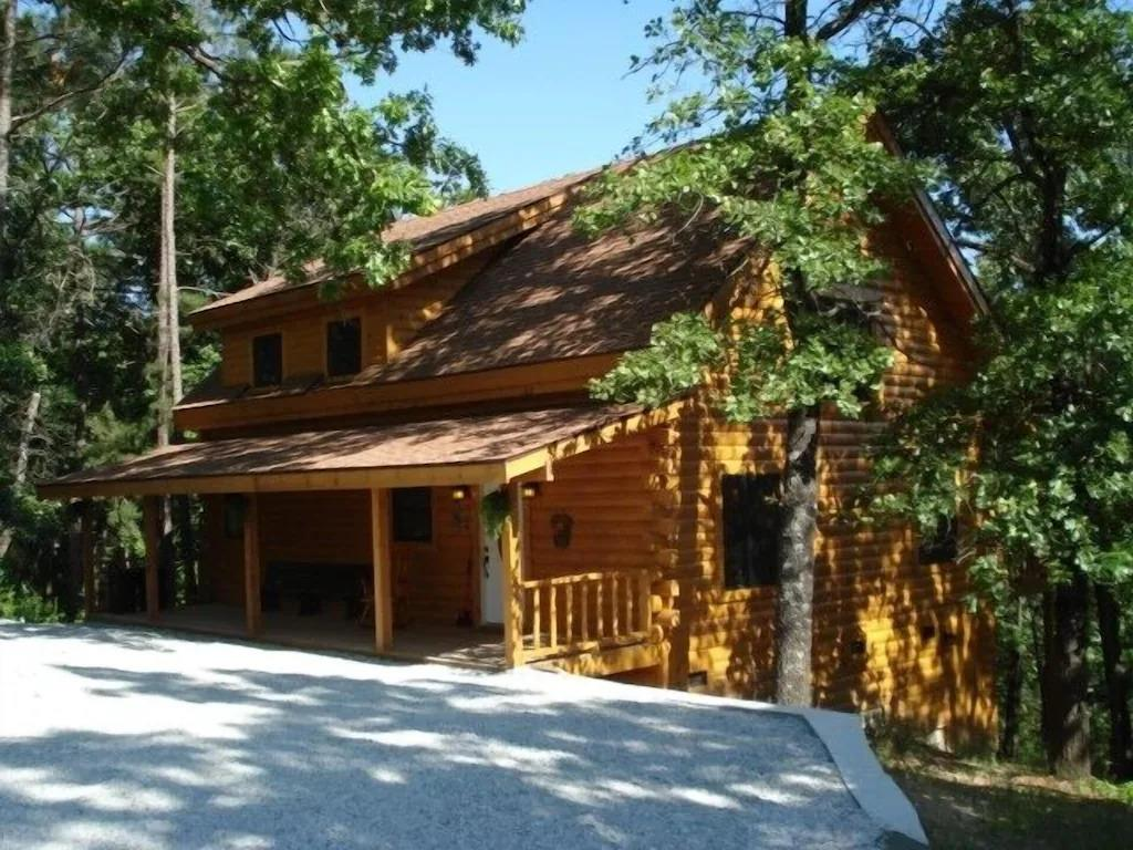 luxury log cabin rentals at table rock