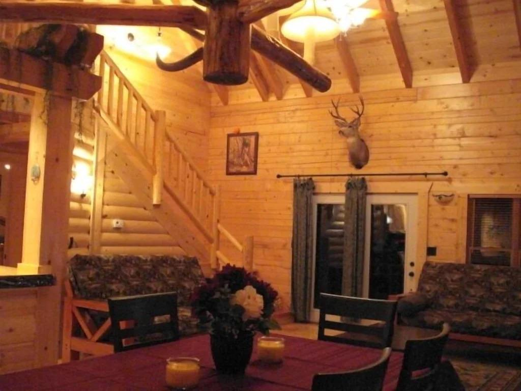 vacation cabin for rent in Table Rock Lake mo